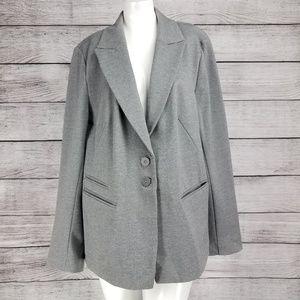 Lane Bryant Blazer Suit Jacket Rayon Knit sz 20